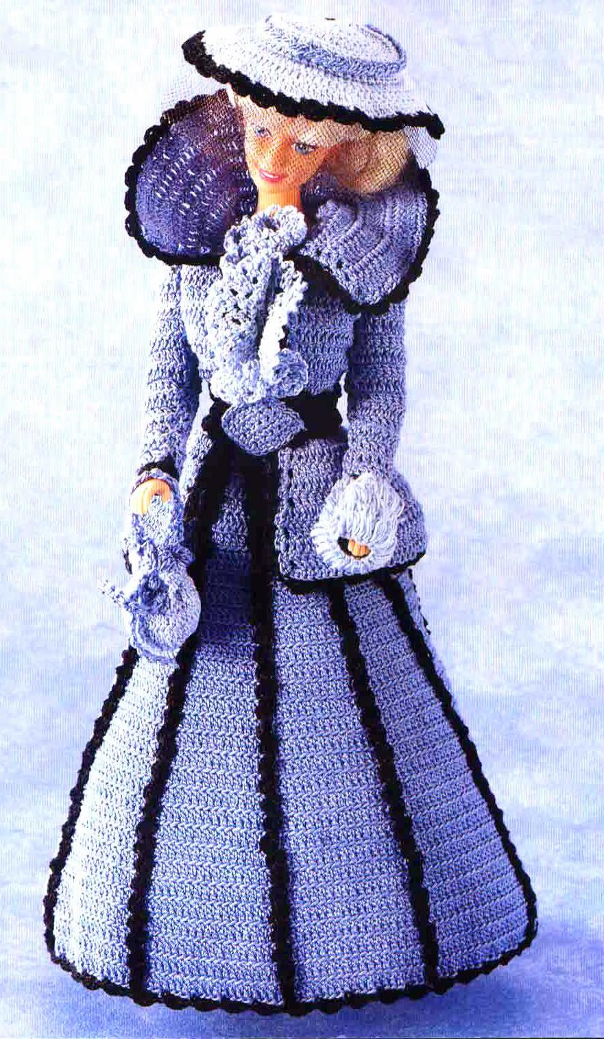 Cómo Hacer Vestido Para Muñeca Tejidos A Crochet