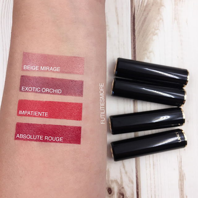 Lancome L' Absolu Rouge - Hydrating Shaping Lipstick