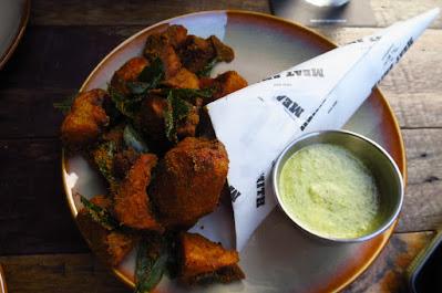 Meatsmith Little India, gunpowder potatoes