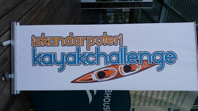 iskandar puteri kayak challenge 2017, puteri harbour, kg sungai melayu, kayak challenge, johor