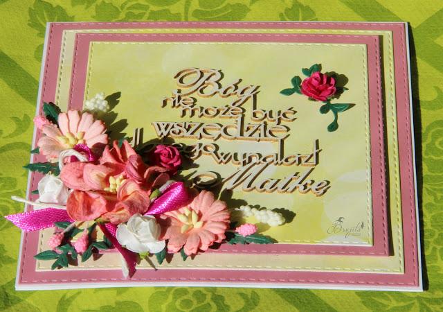 dla mamy, Bóg nie może być wszędzie, Magia Ombre Magiczna kartka, prezent na dzień mamy, energetyczna kartka, jak złożyć życzenia mamie, mama, życzenia dla mamy, 26 maj,