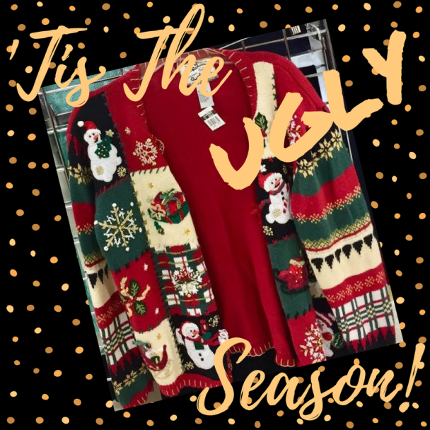 that time of year when you search your closet into the land of christmas sweater misfits and find stored away amid the darkest corners that ugly christmas - Misfits Christmas Sweater