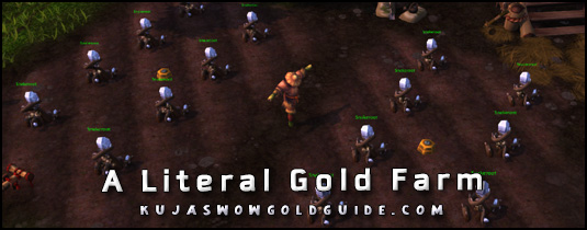 gold farming in battle for azeroth