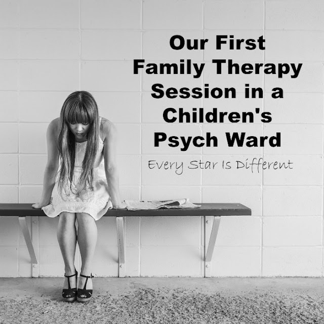 Our First Family Therapy Session in a Children's Psych Ward
