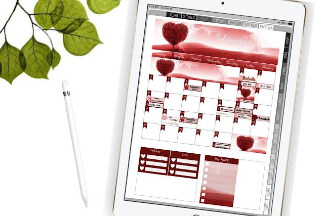 Plan with me digital planner