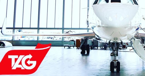 Flight attendant servicing you on her break