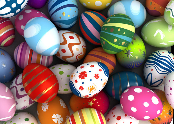 Happy Easter Eggs 2017