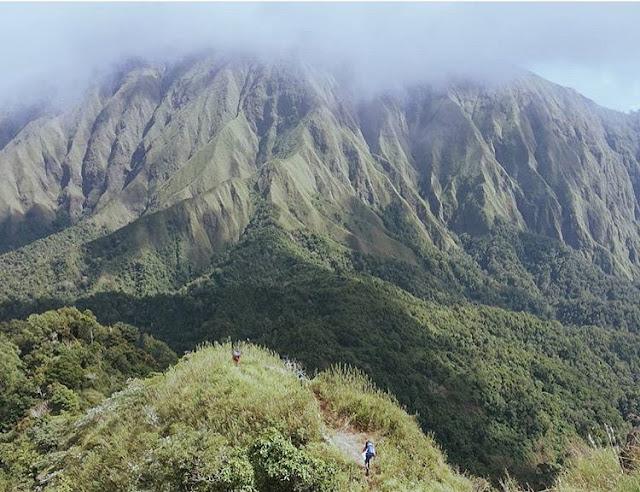 Lokasi Bukit Anak Dara, Sembalun Lombok Timur