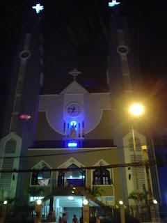 Chiesa cattolica a Ho Chi Minh City (Saigon), Vietnam.