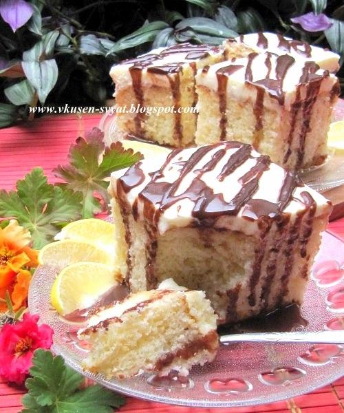 Лимонлу ислак кек Турски лимонов мокър кекс / Limonlu Islak Kek Turskish Lemon Wet Cake
