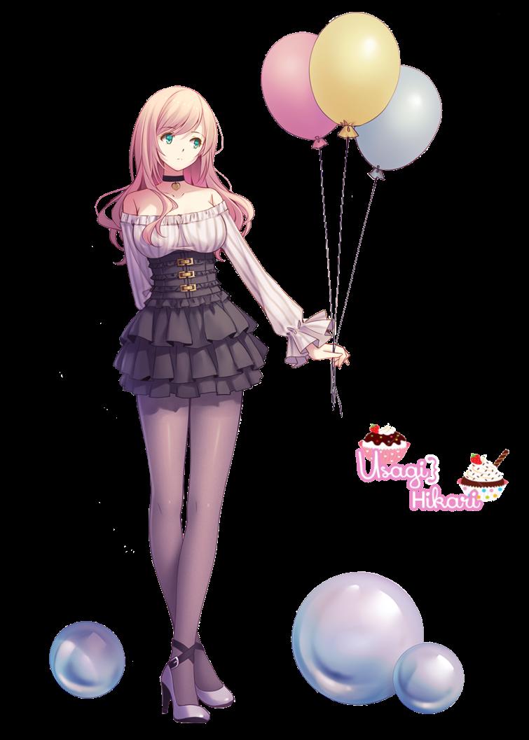 render chica globos