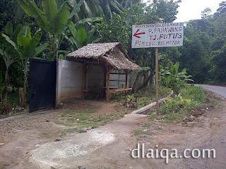 jalan masuk alternatif ke dermaga Ketapang