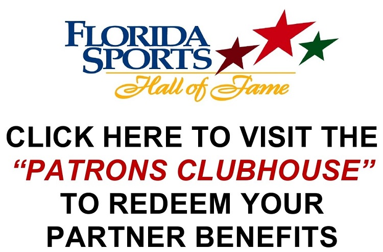 FSHOF Patrons Clubhouse - Redeem Benefits