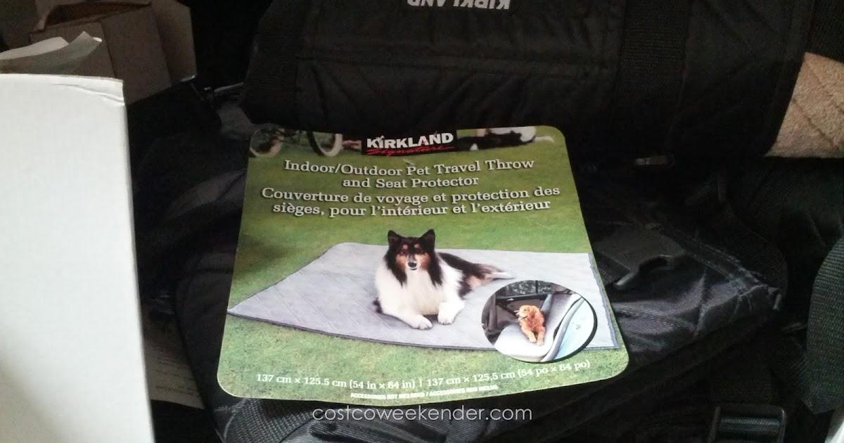 Dog Blanket For Car >> Kirkland Indoor/Outdoor Pet Travel Throw and Seat Protector | Costco Weekender
