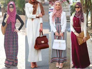 Maxi Dress Muslim Modern