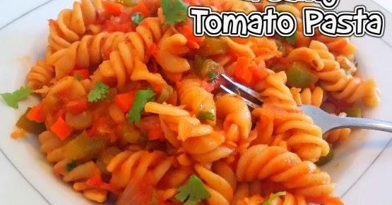 TOMATO PASTA / CREAMY TOMATO PASTA - Easy Video Recipe