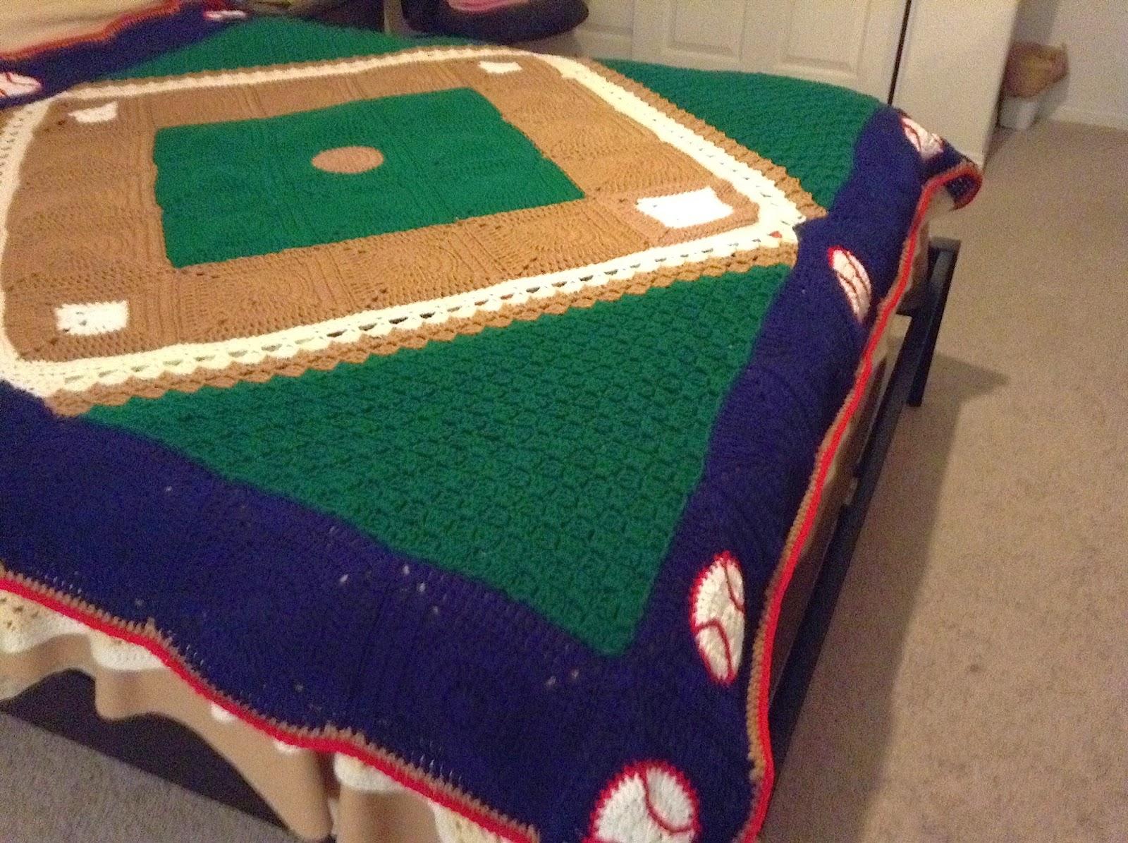 Illuminate Crochet Remix Friday Baseball Blanket