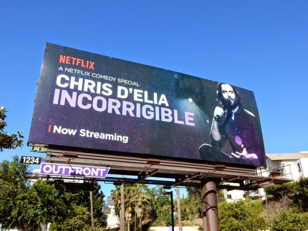 Chris DElia Incorrigible billboard