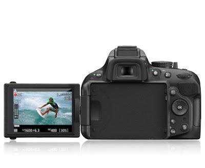 Nikon D5200 cámara reflex barata, tecnología