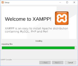 xampp installer - Cara Gampang Install Xampp Webserver Di Windows