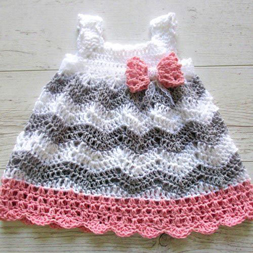 Chevron Dress - Crochet Pattern