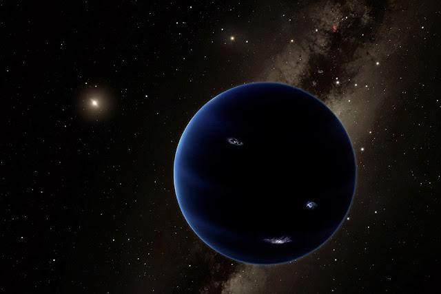 Nono planeta - ilustração
