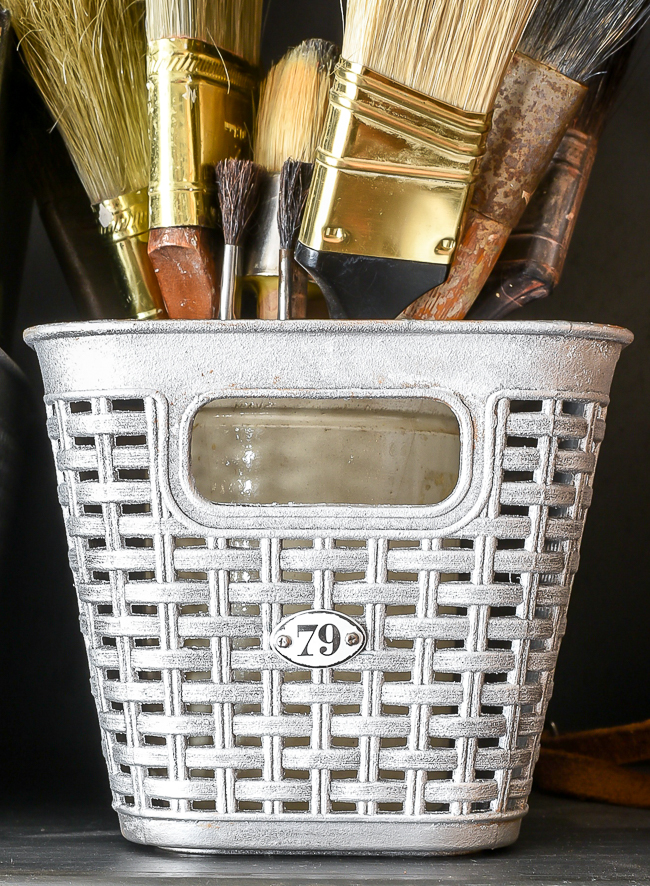 DIY Dollar Tree Locker baskets
