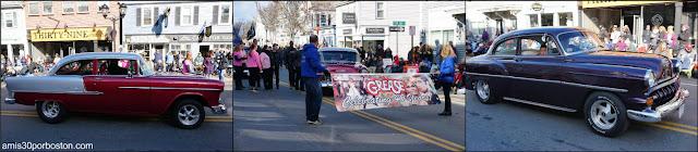 Grease en el Desfile de Acción de Gracias de Plymouth