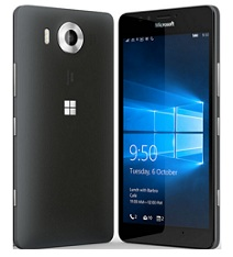 Microsoft Lumia 950 Dual SIM With Windows 10, Cortana, 4 G Smartphone(Black) for Rs.35991 Only @ Paytm (Get Rs.4000 Cashback)