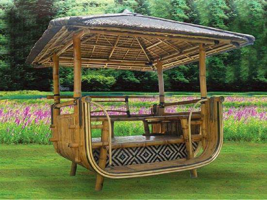 80 different types of nipa huts bahay kubo design in the for Small house design made of bamboo