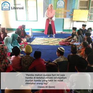 Spesial Hari Ibu Kita Kartini: TBM Sahabat Literasi Kedatangan Kartini Muda Dari Lombok Fimur.