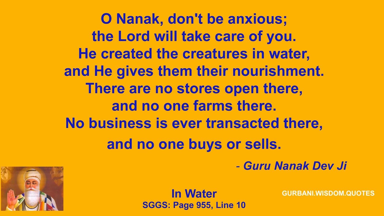2017 05 guru nanak dev ji quotes - Quote 214 284 Guru Nanak Dev Ji Creatures In Water