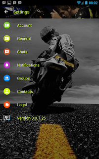 BBM Valentino Rossi V3.0.1.25 Apk Terbaru