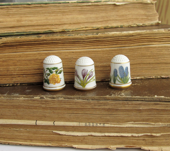 наперстки, Thimbles Franklin Mint