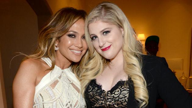 Meghan Trainor defiende a Jennifer Lopez tras la polémica de la participación de Dr.Luke en su nuevo sencillo.