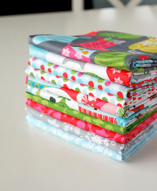 Even a Mouse fabric from Blend