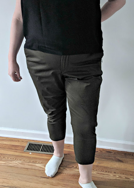 Kut from the Kloth Sienna Cropped Pant