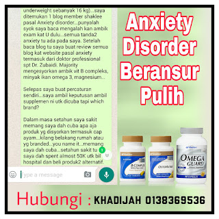 Penyakit anxiety disorder