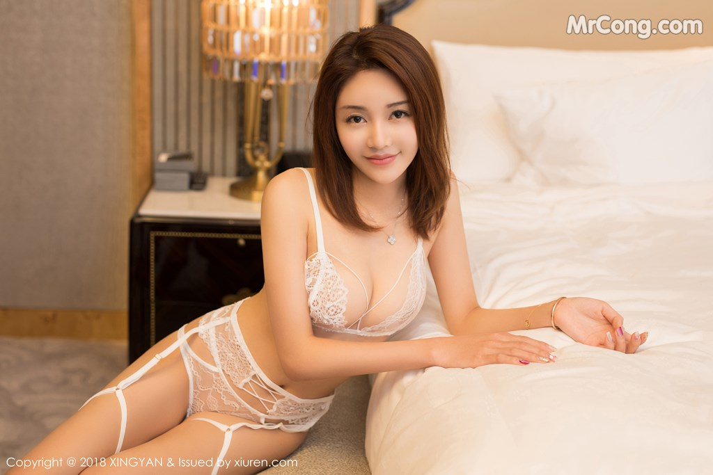 Image XingYan-Vol.105-Selina-MrCong.com-002 in post XingYan Vol.105: Người mẫu Selina思思 (40 ảnh)