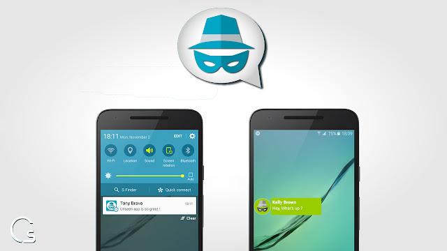 تطبيق لهواتف الاندرويد لمنع Seen من تطبيق messenger و whatsapp