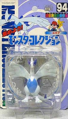 Lugia figure Tomy Monster Collection series