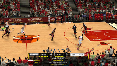 NBA 2K13 PC ESPN TV Scoreboard Mod