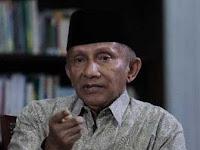 Polda Metro Jaya Panggil Amien Rais Jadi Saksi Makar Hari Ini