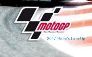 Daftar Pebalap MotoGP 2017