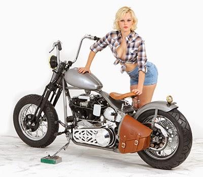 American Motorcycle Design: Zodiac Old Skool bike