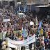 تظاهرة عارمة في منبج استنكاراً لقصف التركي