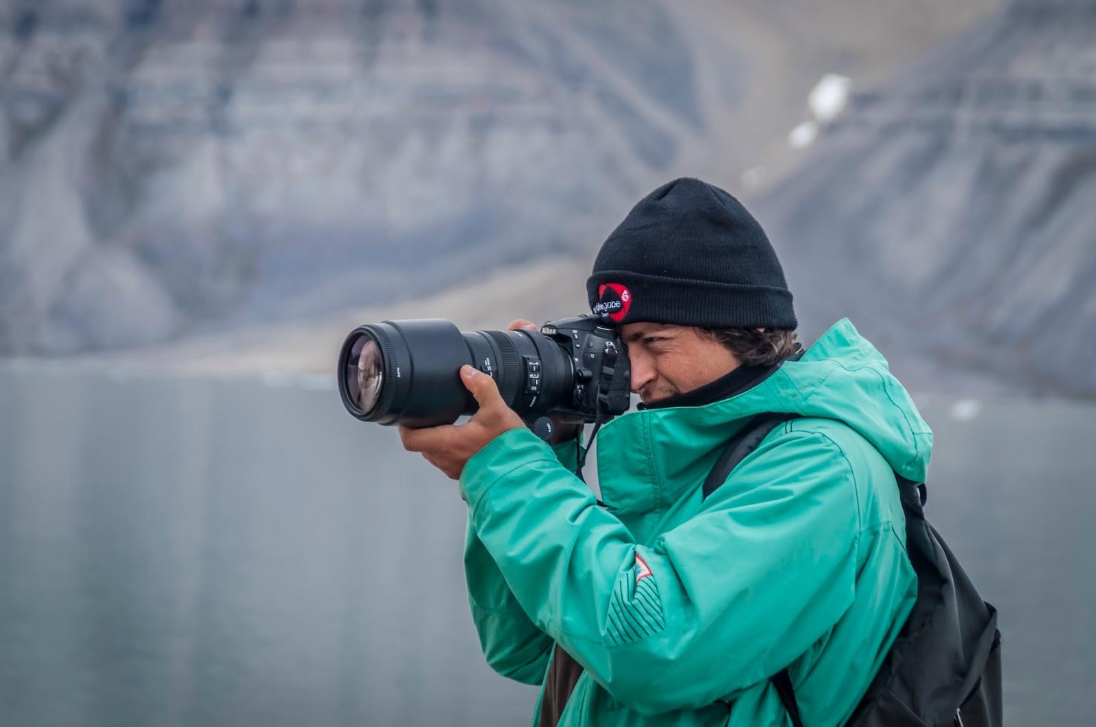 tempelfjord svalbard spitzberg glacier kayak