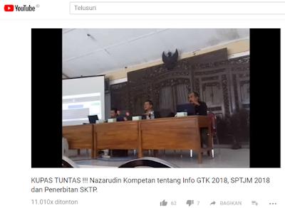 gambar Info SKTP, SPTJM, DHGTK Terbaru 2018