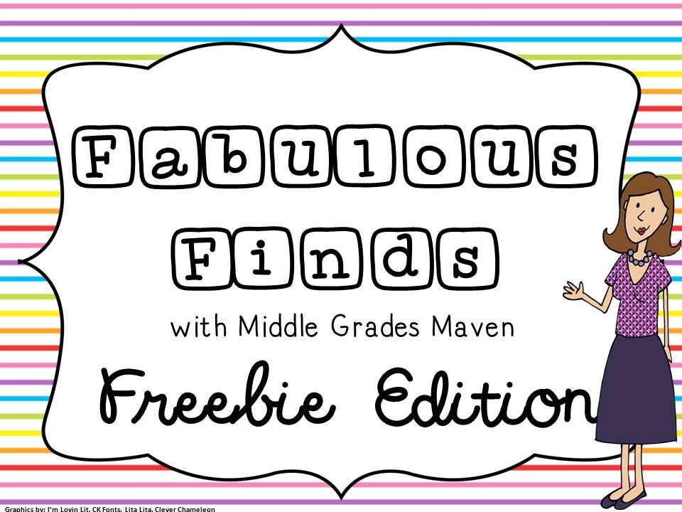 Middle Grades Maven: June 2013