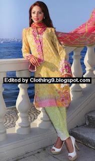 Farah Talib Aziz Midsummer Collection 2015